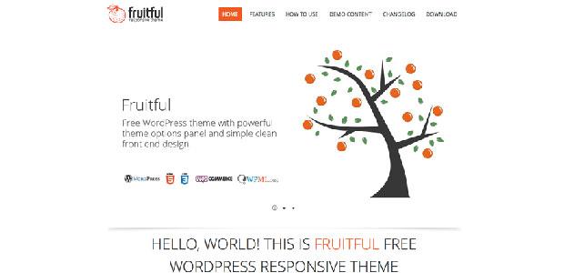 fruitful free woocommerce theme