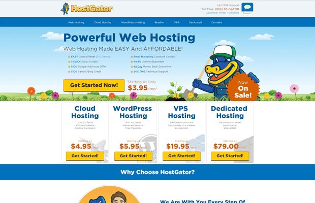 hostgator best cpanel web hosting