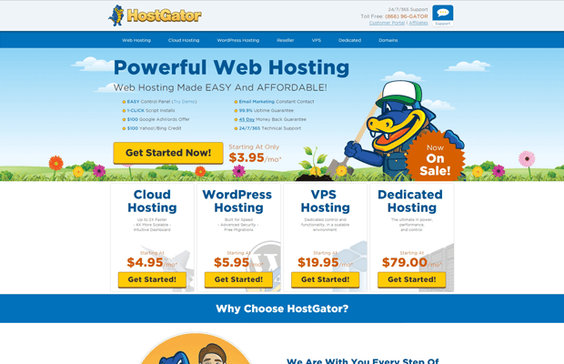 hostgator reliable hosting for adult websites