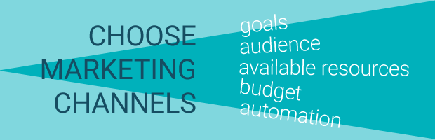 how choose marketing channel
