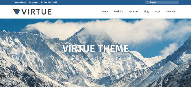 virtue free woocommerce theme