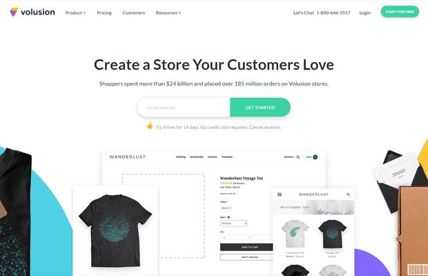 volusion best online store builder