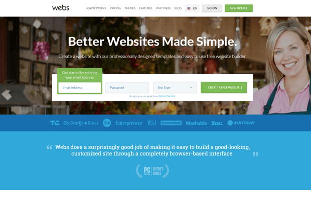 webs com best online store builder tool