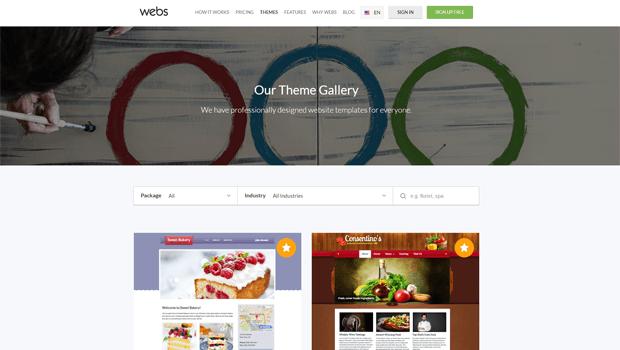 webs com website builder