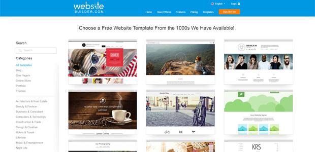 websitebuilder com free