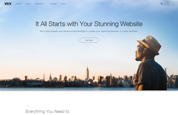 wix com best online store builder