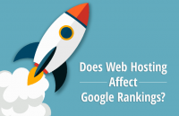does web hosting affect google rankings