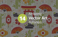 14 amazing vector art tutorials