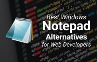 best windows notepad alternatives web developers