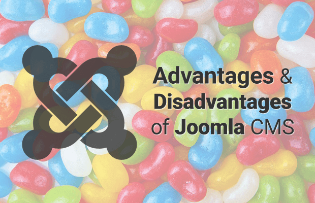 joomla advantages disadvantages
