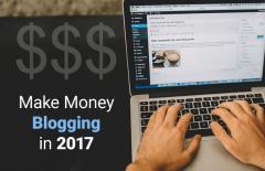 make money blogging 2017