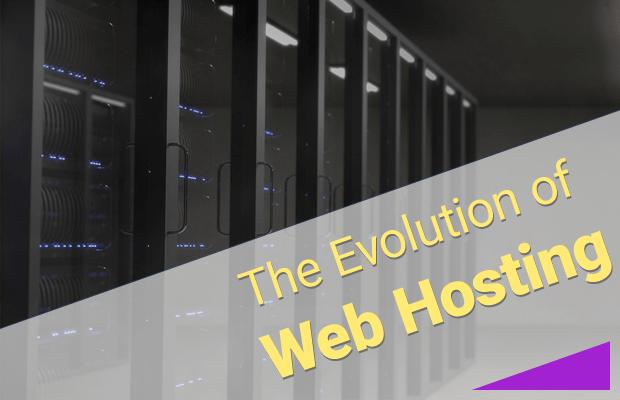 web hosting evolution