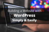 building wordpress website