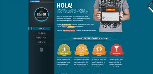 asymetric web design