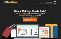 hostgator black firday 80 off