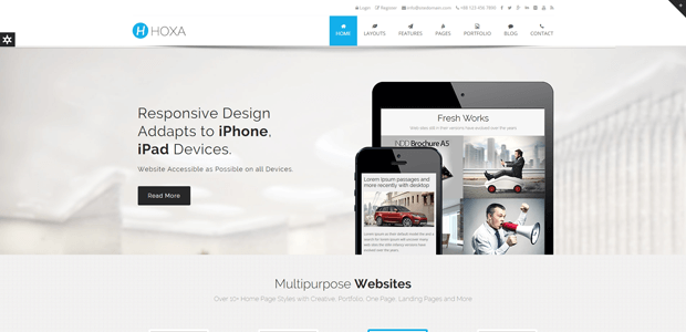 hoxa multipurpose business joomla template