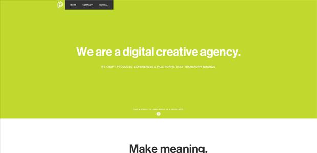 web design simple plain text