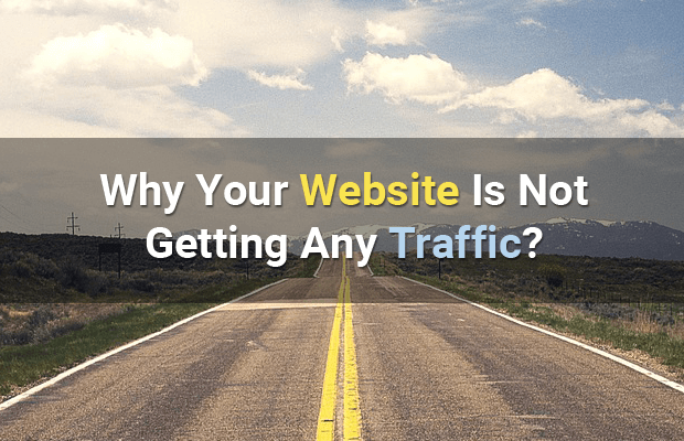 why website not getting traffic
