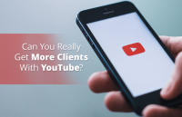 get more clients with youtube
