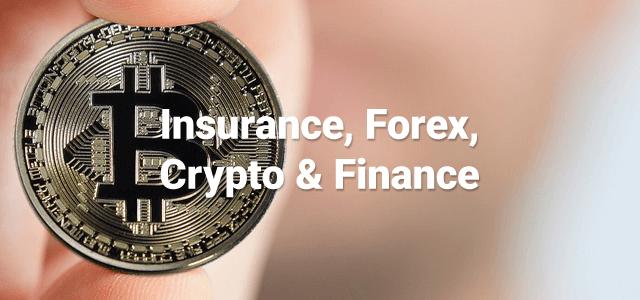 insurance forex crypto finance niche