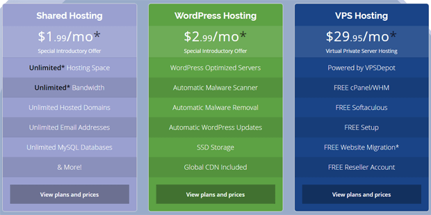 webhostingpad plas pricing