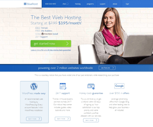 bluehost best small business hosting