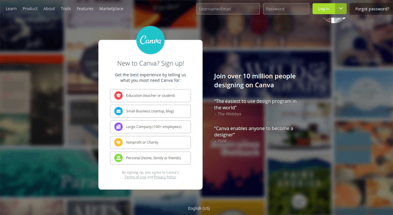 canva product design
