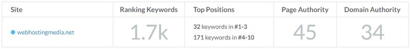 check domain seo metrics