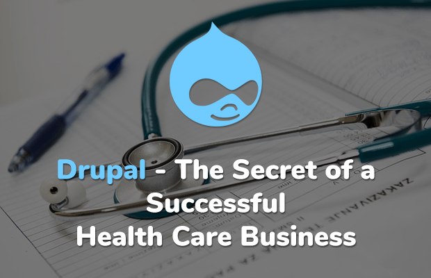drupal secret successful health care business