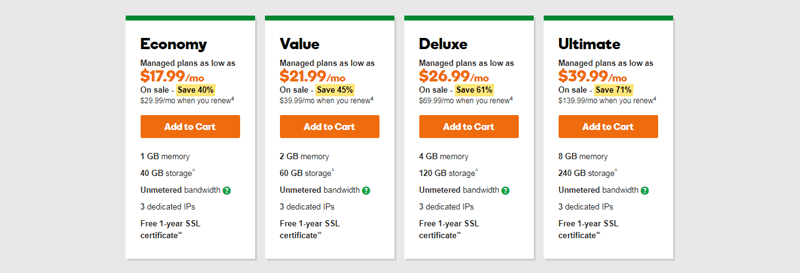 godaddy vps hosting pros and cons