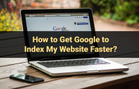 google index website faster