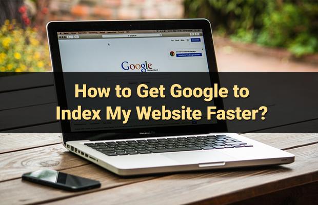 google index website faster