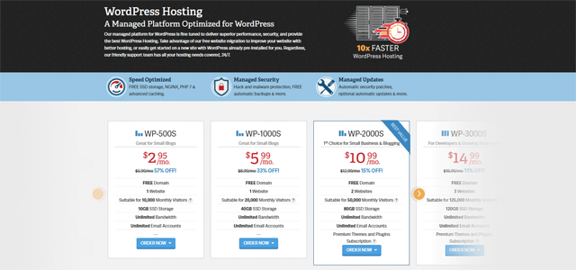 inmotion wordpress hosting pros and cons
