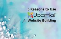 reasons use joomla website building