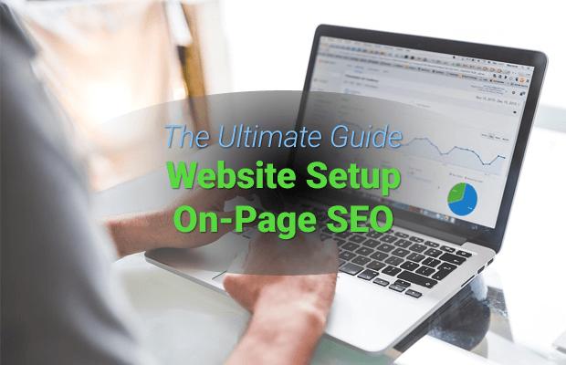 website setup on page seo
