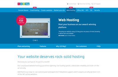 123reg best uk web hosting