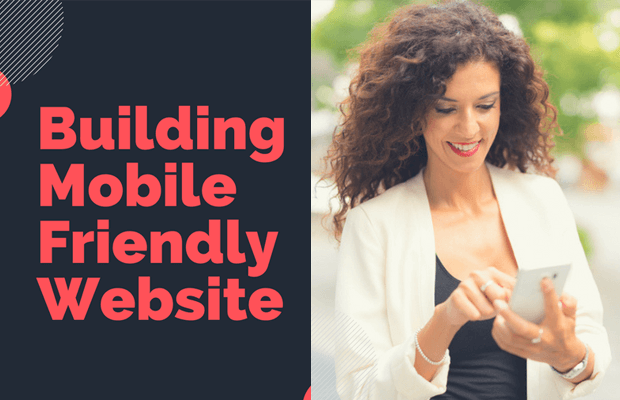 building mobile friendly website