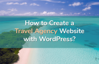 create travel agency website