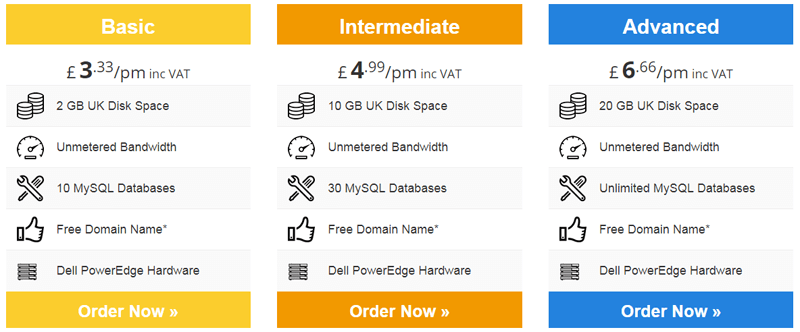 eukhost pricing shared hosting