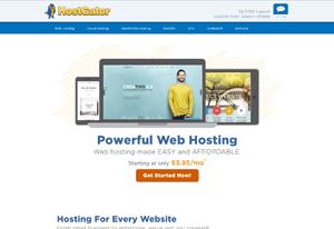 hostgator create travel agency website