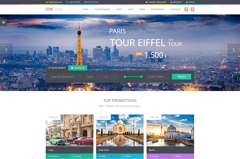 Travel Agency Website >> How To Create A Travel Agency Website With Wordpress