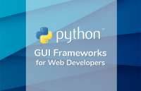python gui frameworks web developers
