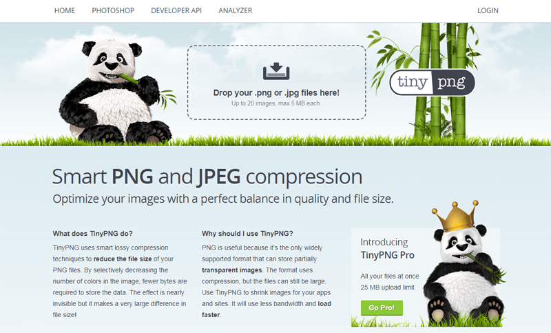 tinypng compress images