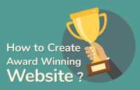create award winning website