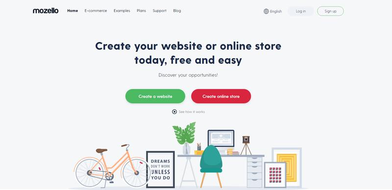 mozello free website builder