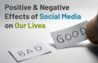 positive negative effects social media