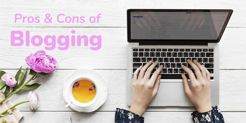 pros cons blogging