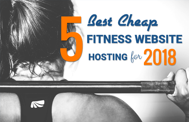 best hosting fitness websites