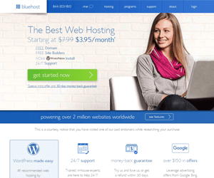 bluehost best ipage alternative