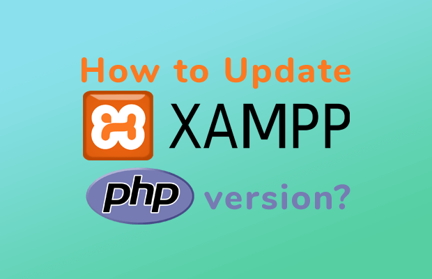 update php version xamp windows